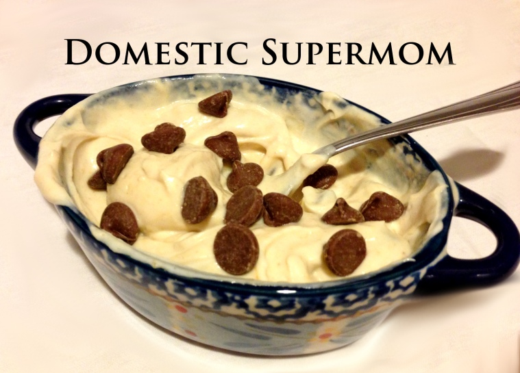 Chocolate Chip Greek Yogurt Recipe- Domestic Supermom